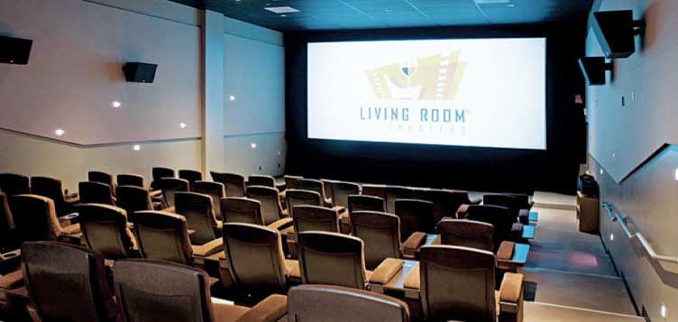 Movie Theater (Interim: Living Room Theater)
