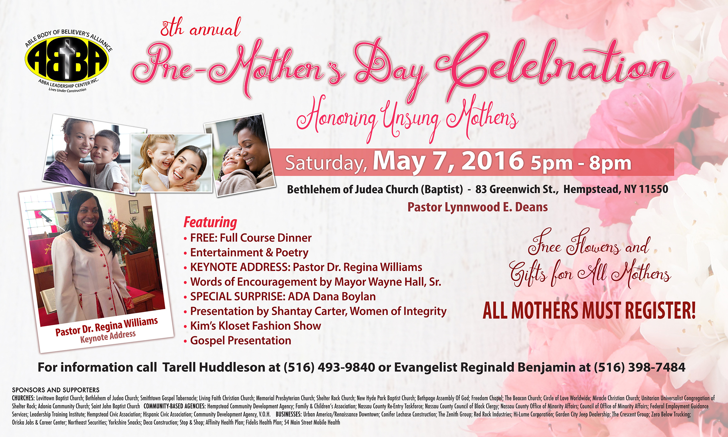 Mothers Day Celebration | Renew Hempstead
